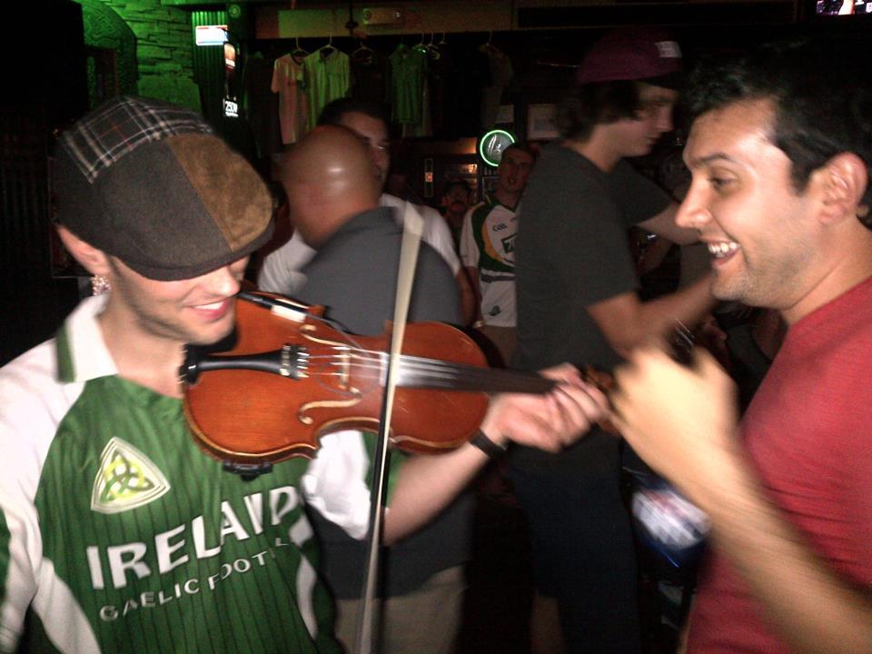 acoustic fiddle